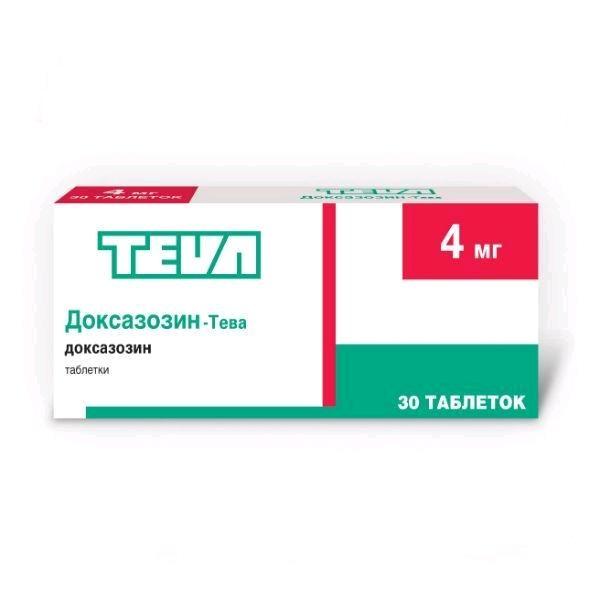 doxazosin инструкция по применению