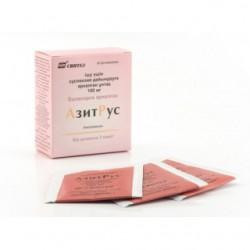 АзитРус, пор. д/сусп. д/приема внутрь 100 мг 4,2 г №3 пакетики