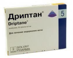Дриптан, табл. 5 мг №30