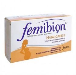 Фемибион Наталкеа II, капс. + таб. №30+№30